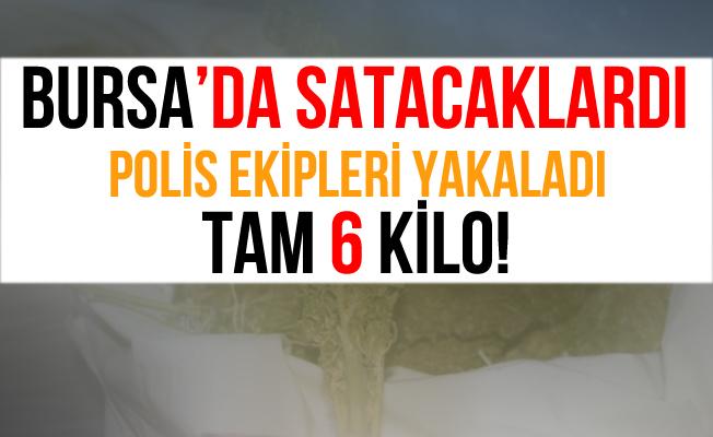 Bursa'daki Uyuşturucu Operasyonunda 6 Kilo Esrar Ele Geçirildi