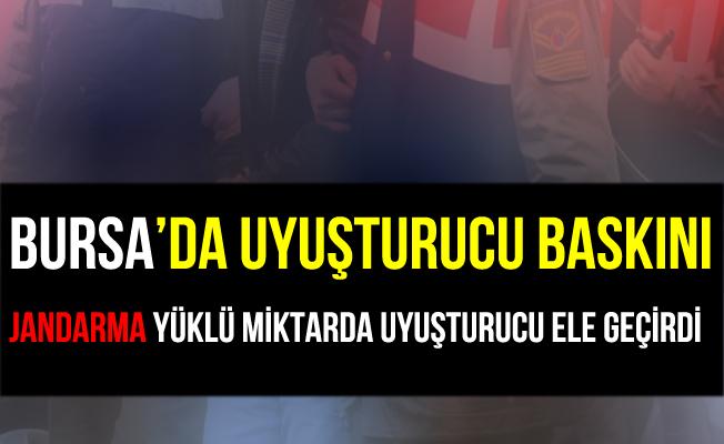 Bursa İnegöl'de Çiftlik Evine Uyuşturucu Baskını