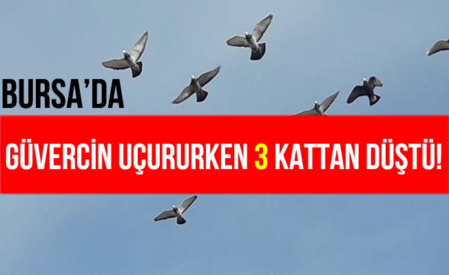 Bursa İnegöl'de Güvercin Uçuran Genç 3. Kattan Düşerek Öldü