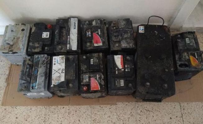 Bursa İnegöl'deki Akü Hırsızı Yakalandı