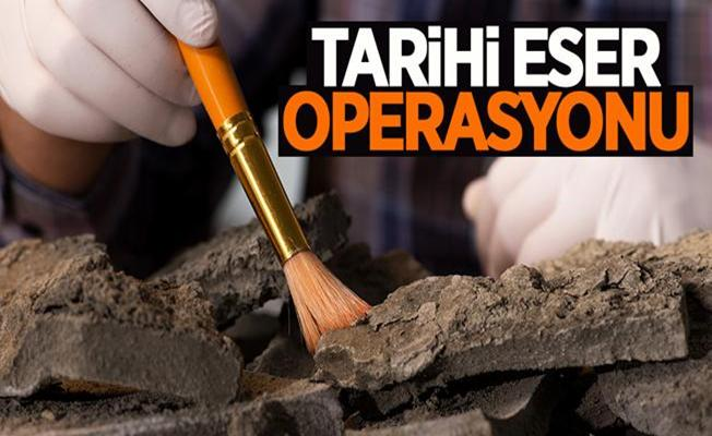 Bursa Kestel'de Tarihi Eser Operasyonu!