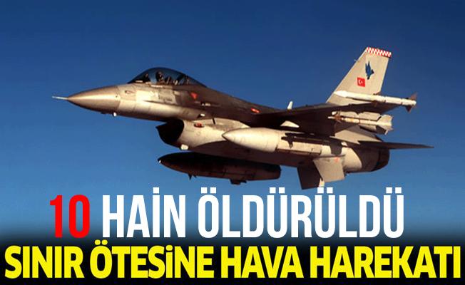 Üs Bölgesine Saldırı Hazırlığı Yapan 10 PKK'lı Öldürüldü!