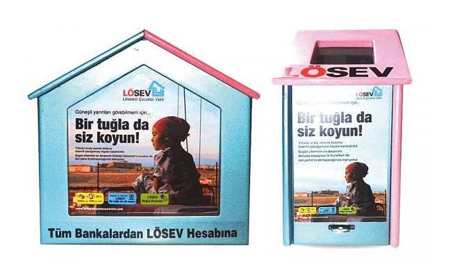 Bursa'da Lösemili Çocukların Kumbarasına Göz Diktiler!