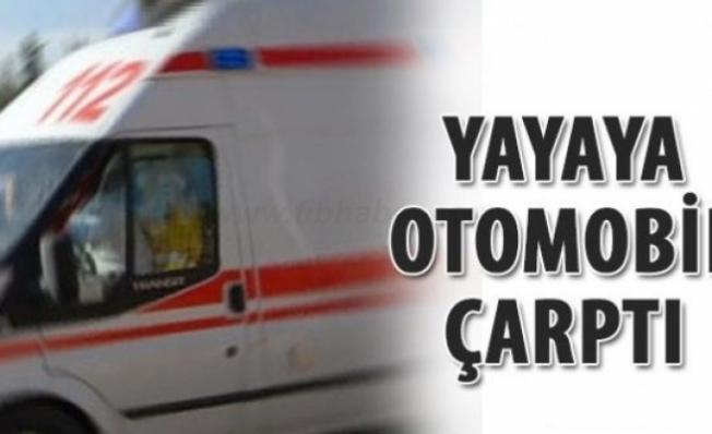 Bursa İnegöl'de Karşıdan Karşıya Geçerken Araba Çarptı!
