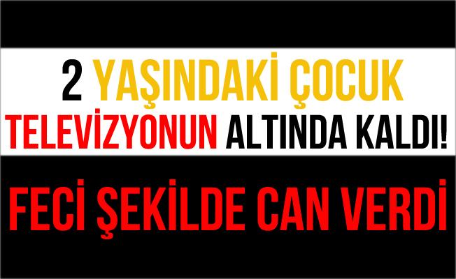 Şanlıurfa'da Üzerine Televizyon Düşen Çocuk Öldü!