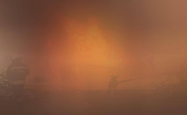 Bursa'daki Bir İlkokulda Yangın Çıktı!
