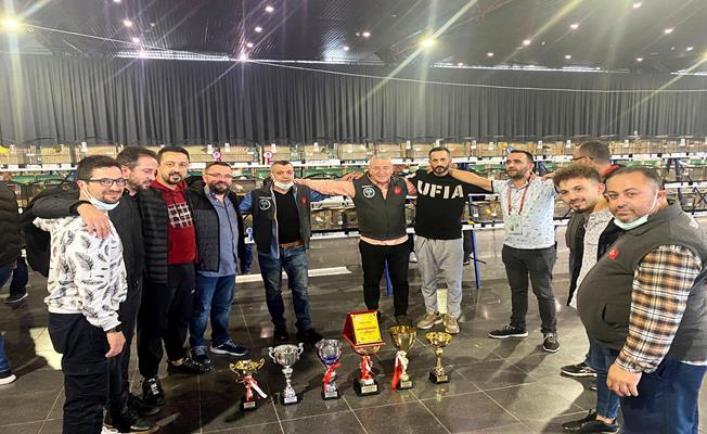11. Ankara Atatürk Kupası Kafes Kuşları Yarışmasının 1.'cisi Bursa'dan