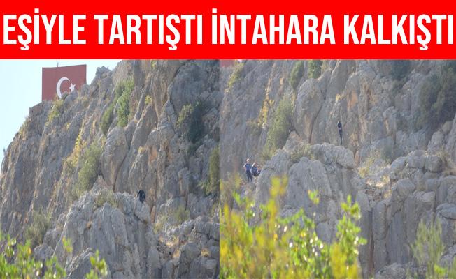Adana'da Eşiyle Tartıştı, İntihar Etmek İçin Kozan Kalesine Çıktı