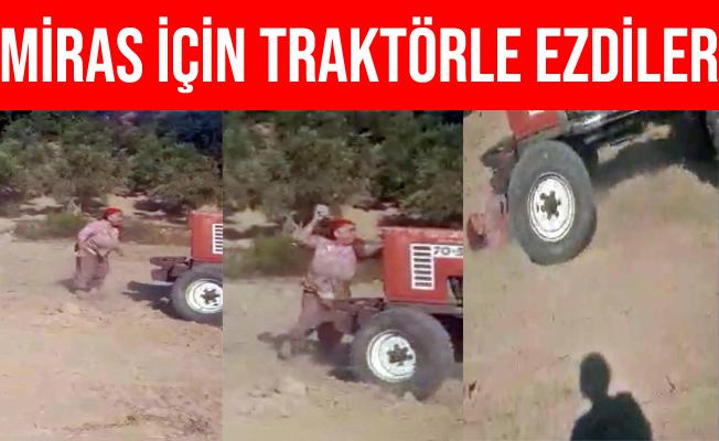 Antalya Manavgat'ta Miras Kavgasında Ablalarını Traktörle Ezdiler