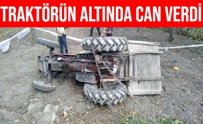 Bilecik'te Devrilen Traktörün Altında Kalarak Can Verdi