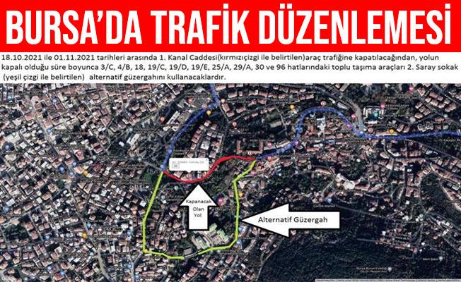 Bursa Çekirge'de Trafik Düzenlemesi