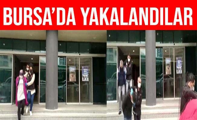 Bursa'da Binlerce Genci Zehirleyemeden Yakalandılar