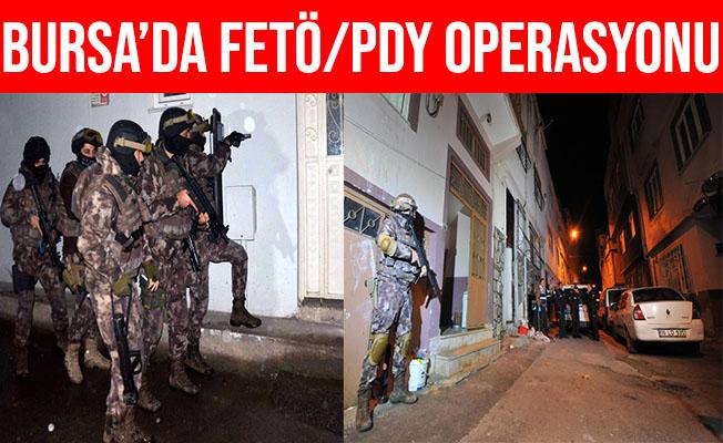 Bursa'da FETÖ'nün Gaybubet Yapılanmasına Operasyon