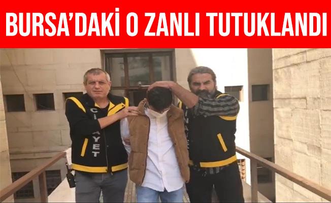 Bursa'da Husumetlisini Sırtından Vuran Zanlı Tutuklandı