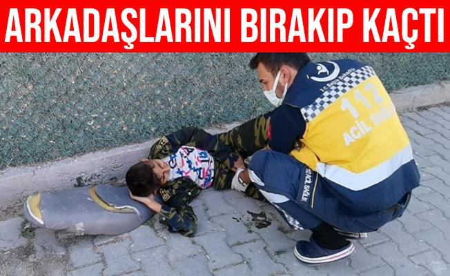Bursa'da Kazada Yaralanan Arkadaşını Bırakıp Kaçtı