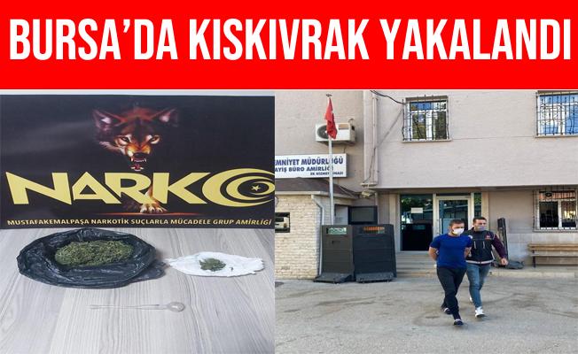Bursa'da Uyuşturucu Satıcısı Kıskıvrak Yakalandı