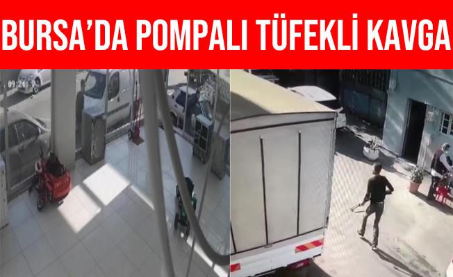 Bursa'daki Kavgada Pompalı Tüfekle Ateş Açtı