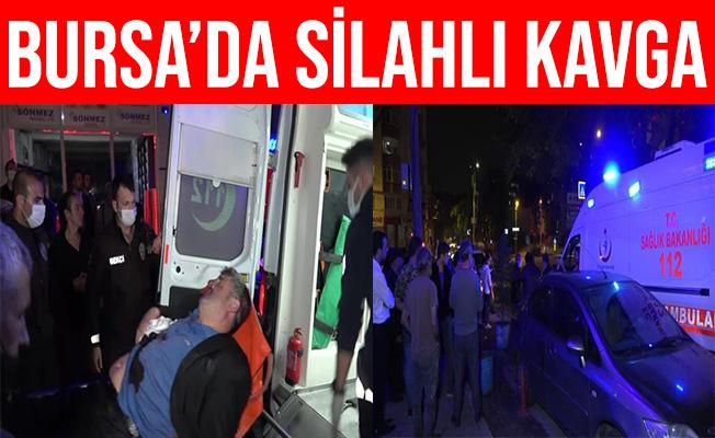 Bursa'daki Silahlı Kavgada 1 Kişi Ağır Yaralandı