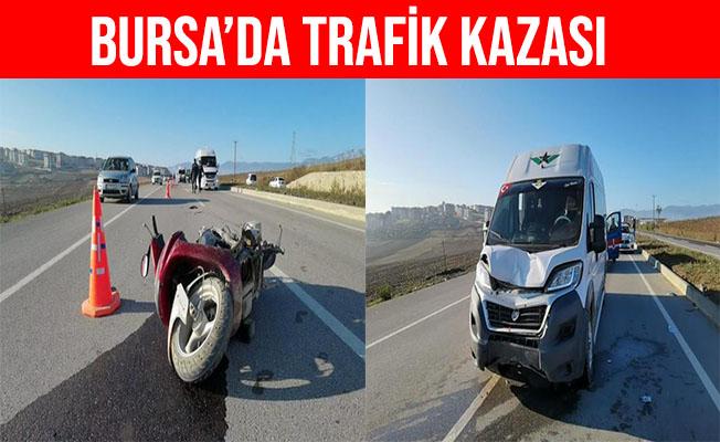 Bursa İnegöl'deki Kazada Sürücü Kalp Masajıyla Hayata Döndü