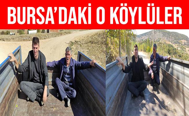 Bursa'lı Köylülerden İlginç Böbrek Taşı Dökme Yöntemi
