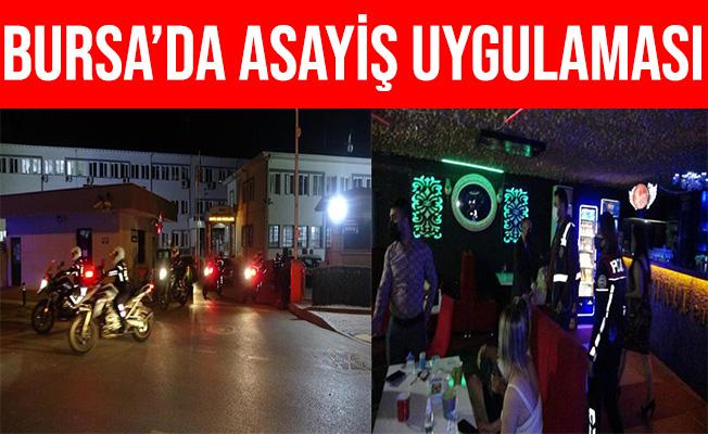 Bursa'da 250 Polis'le Drone Destekli Asayiş Uygulaması
