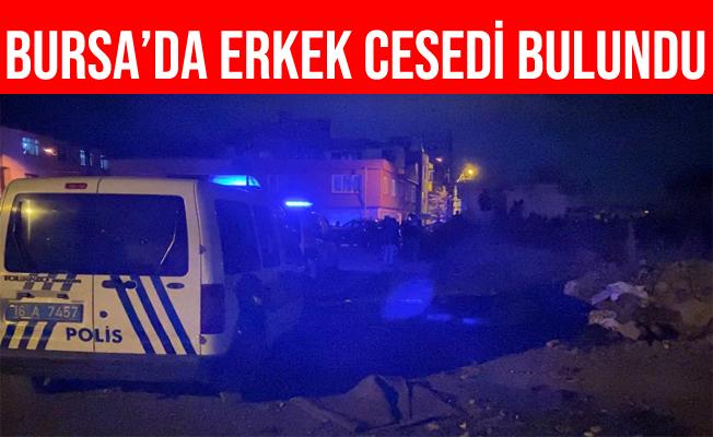 Bursa'da Boş Arsada Ölmüş Halde Erkek Cesedi Bulundu