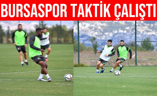 Bursaspor Kocaeli Kampında Taktik Çalıştı