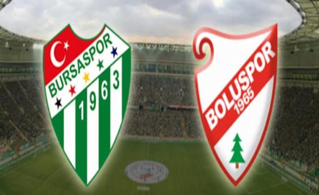 Bursaspor Timsah Park Stadı'nda Boluspor'u Konuk Edecek