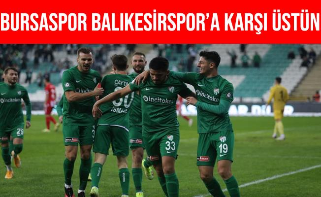 Bursaspor'un Balıkesirspor'a Karşı Üstünlüğü Var