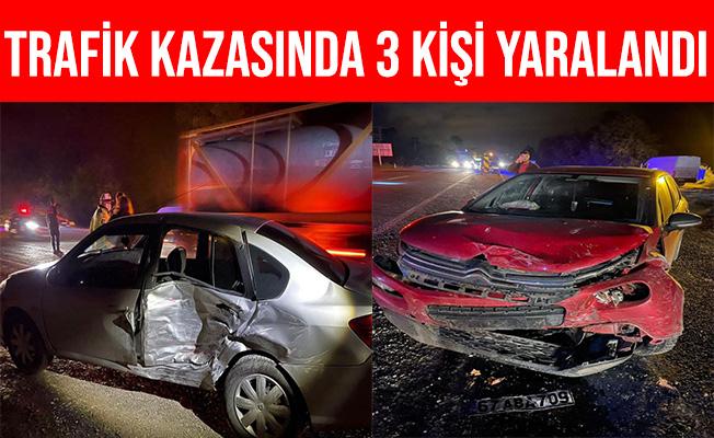 Devrek'teki Trafik Kazasında 3 Kişi Yaralandı