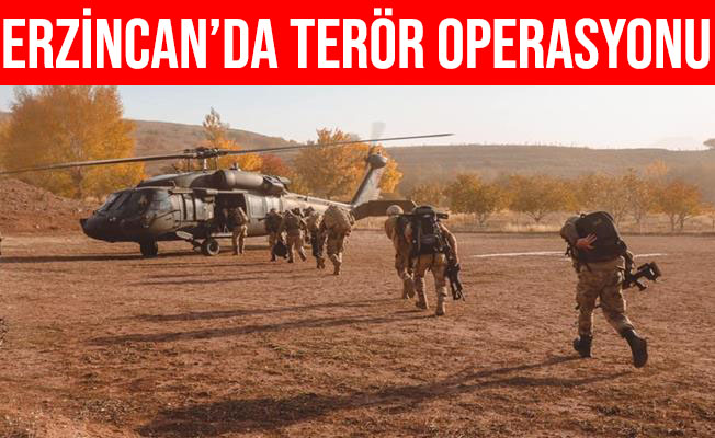 Erzincan'da Terör Operasyonu: 12 Mağara, Sığınak, Depo İmha Edildi