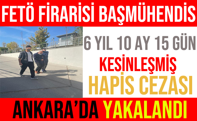 FETÖ'nün TRT'den İhraç Başmühendisi Şefik Cürebal Yakalandı