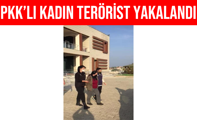 İzmir'in Urla İlçesinde PKK'lı Kadın Terörist Yakalandı