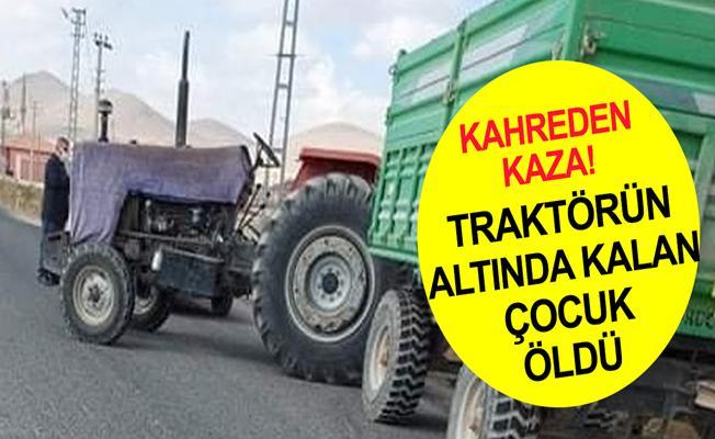 Konya Ereğli'de Traktörden Düşen Çocuk Hayatını Kaybetti