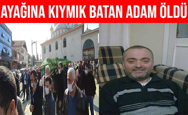 Sakarya'da Ayağına Kıymık Batan Şahıs Hayatını Kaybetti