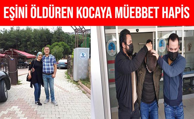 Samsun'da Eşini Öldüren Kocaya Müebbet Hapis Cezası