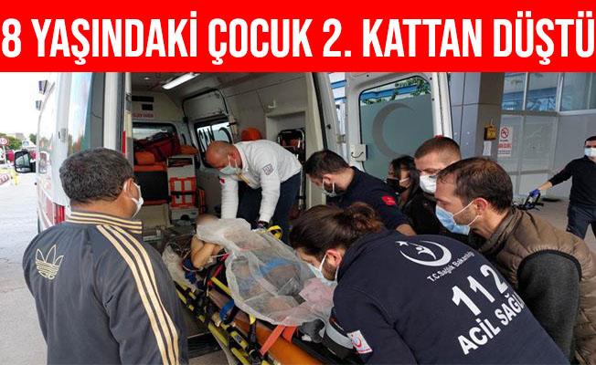 Samsun'da Eve Balkondan Girmeye Çalışan Çocuk 2. Kattan Düştü