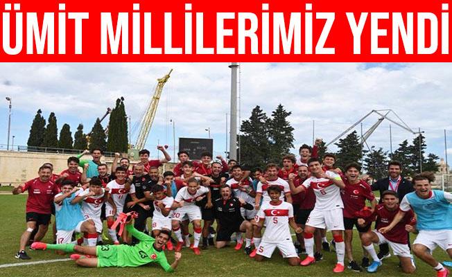 Ümit Milli Takımımız, Kazakistan'ı 1-0 Yendi