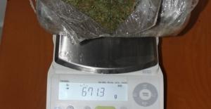 Araca zula yapılmış 10 kilo 711 gram esrar ele geçirildi