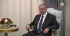 KKTC Cumhurbaşkanı Akıncı, İngiltere Dışişleri Bakanı Johnson'ı kabul etti