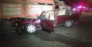 Konya Ereğli'de Otomobil römorka çarptı: 1 ölü