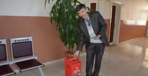 Orhaneli'nde atık pil toplama kampanyası