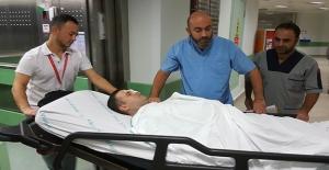 Samsun'da Silahla vurulan hastaya müdahale eden doktoru hastanelik ettiler