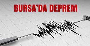 Büyükorhan'da deprem