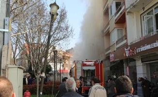 Gürsu'daki Yangın Korkuttu