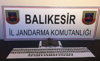 Balıkesir'de tarihi eser kaçakçılığı operasyonu