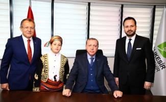 Cumhurbaşkanı Erdoğan, Balıkesir'de