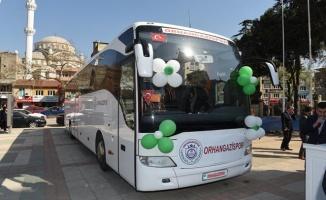 Orhangazispor otobüsüne kavuştu