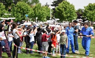 Ata Model Uçak Şampiyonası`nda öğrenciler yarıştı