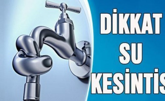 Bursa Harmancık'ta su kesintisi